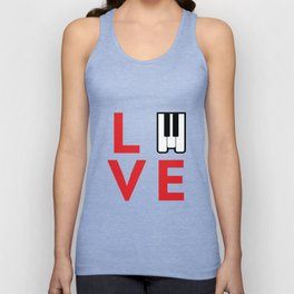 Love music #society6 #music #buyart #artprint Unisex Tank Top