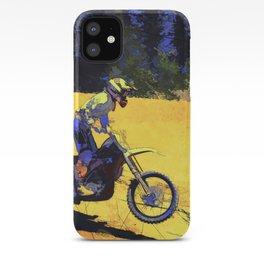 Riding Hard - Moto-x Champ iPhone Case