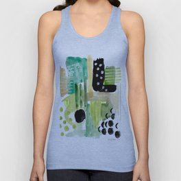 Garden Fern Abstract Unisex Tank Top