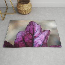 Purple Heuchera Rug