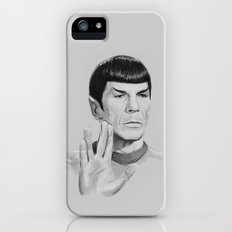 Spock Portrait Star Trek iPhone (5, 5s) Slim Case