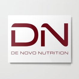 Crimson DN Logo Metal Print