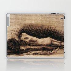 Portrait Of A Back Laptop & iPad Skin
