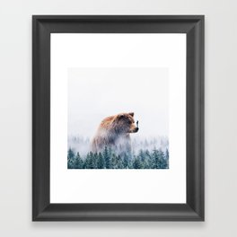 Beyond The Haze Framed Art Print