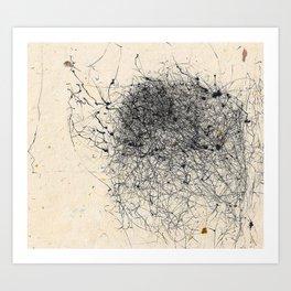 Wind Drawing #006 Art Print