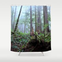 avatar Shower Curtains featuring Avatar Grove by CASSmicetich