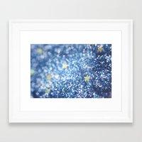 night sky Framed Art Prints featuring Night Sky by Elizabeth