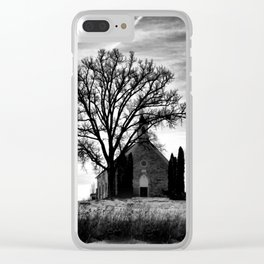 Church in the Country Clear iPhone Case