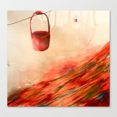 Buckets Canvas Print