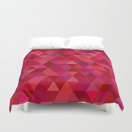Bloody triangles Duvet Cover