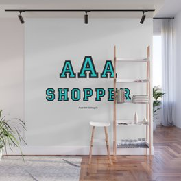 Triple-A Shopper – mint Wall Mural