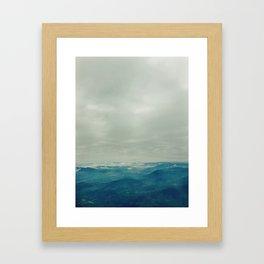 The Andes Framed Art Print