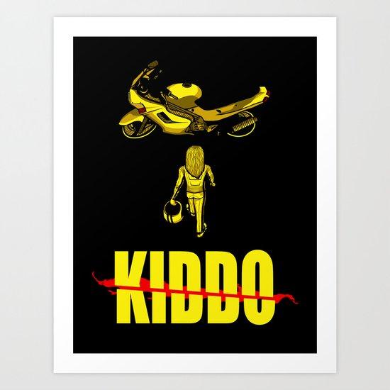 Kiddo Art Print