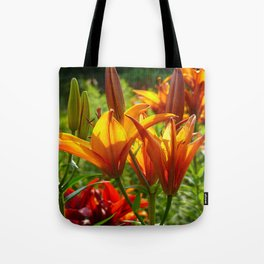 Iris Flowers - For a beautiful day Tote Bag