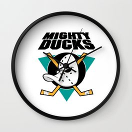 anaheim mighty Wall Clock