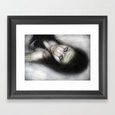 Serpent Framed Art Print