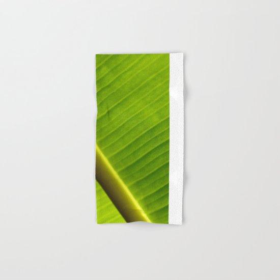 Banana Leaf III Hand & Bath Towel