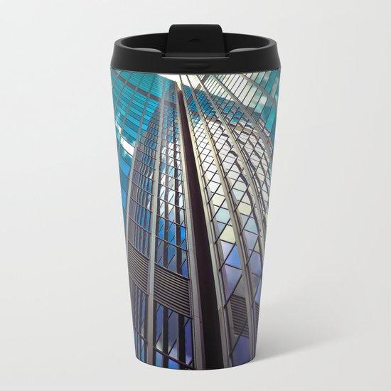 Glass Tower Metal Travel Mug