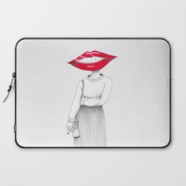 Lip Head Laptop Sleeve