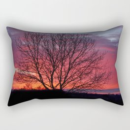 Autumn Sunrise At Chasewater Rectangular Pillow