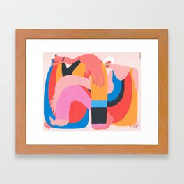 There's Only Room for One Framed Art Print
