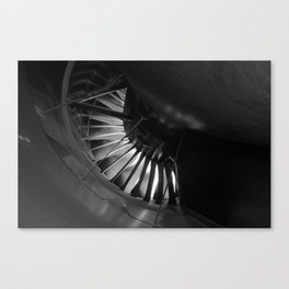 Turbine Bypass Canvas Print