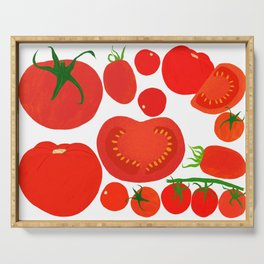 Tomato Harvest Serving Tray
