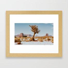 Monument Valley Juniper Gerahmter Kunstdruck