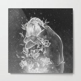 shining your deep soul. Metal Print