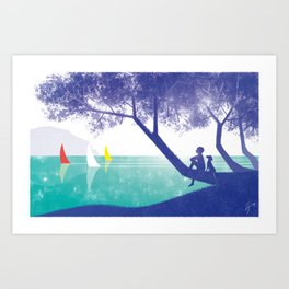 Ferragosto Art Print