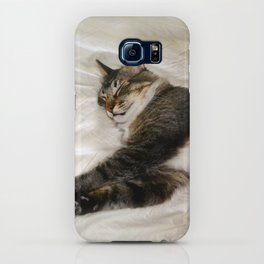 Cat Dreaming iPhone Case