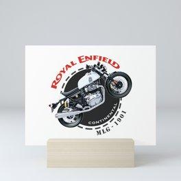 Royal Enfield Motorcycle Continental Mini Art Print