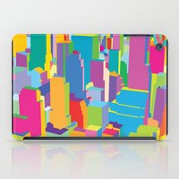 cityscape iPad Cases featuring Cityscape by Glen Gould
