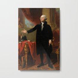 George Washington by Gilbert Stuart, 1797 Metal Print
