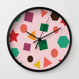 Jungle geo Wall Clock