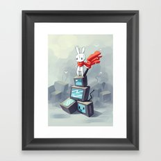 King Of The Hill Framed Art Print