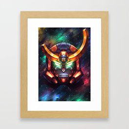 Gurren Lagann - All the lights in the sky are stars Framed Art Print
