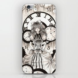As Time Transcends iPhone Skin