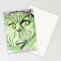 Grinch Stationery Cards