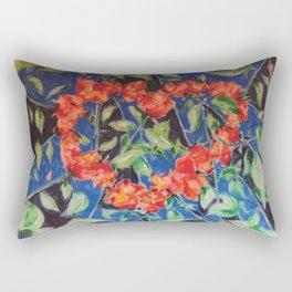 Heart of Roses Rectangular Pillow