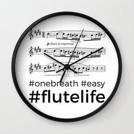 #flutelife #easy Wall Clock
