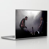 niall horan Laptop & iPad Skins featuring Niall Horan and Harry Styles on Stage by tescotommo