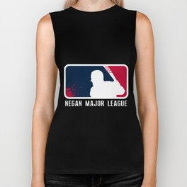 Negan Major League MLG Biker Tank
