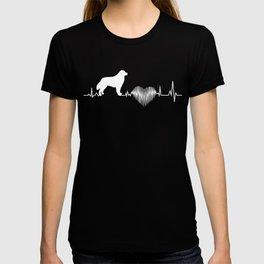 Kuvasz Heartbeat Funny Gift Dog Lover T-shirt
