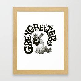 Greygreeter Framed Art Print