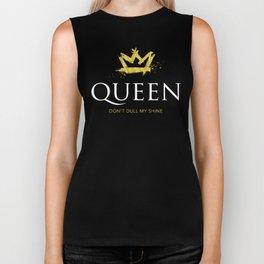 Queen - Don't Dull My Shine Biker Tank