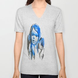 plastic girl Unisex V-Neck