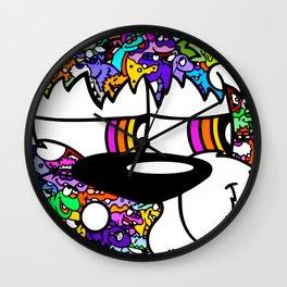 WoolyBooger Joe Wall Clock