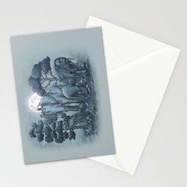 Midnight in the Stone Garden (colour option) Stationery Cards