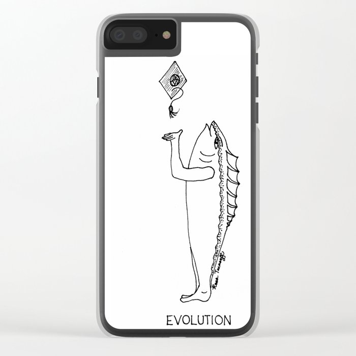 Evolution Clear iPhone Case